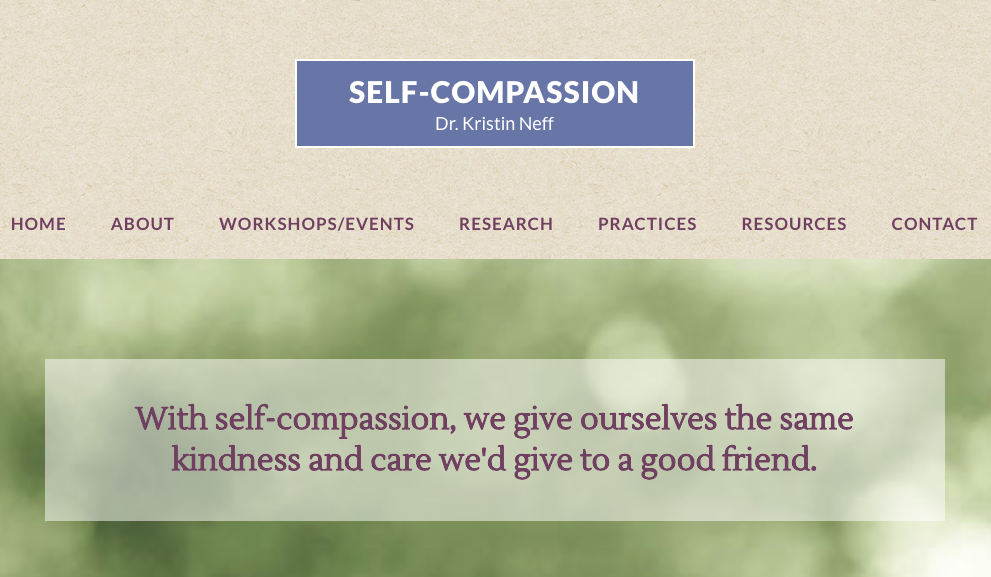 self-compassion.org