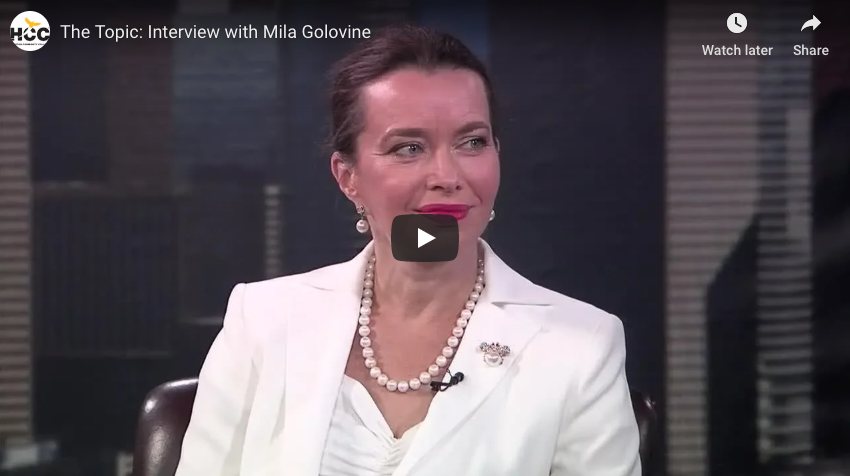The Topic: Interview with Mila Golovine