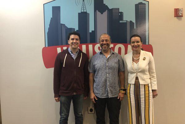 Houston Matters-Joshua Zinn, Alejandro Chaoul, Ludmila Golovine