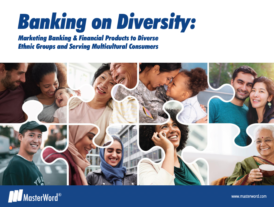 banking on diversity white paper about multicultural consumers