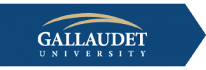 Gallaudet University Logo - University for the Deaf