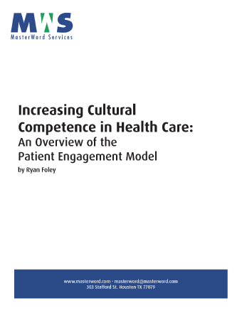 Increasing Cultural Competence Healthcare_White Paper