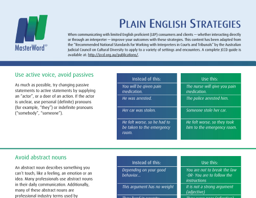 Language-Resource-Plain-English-Strategies